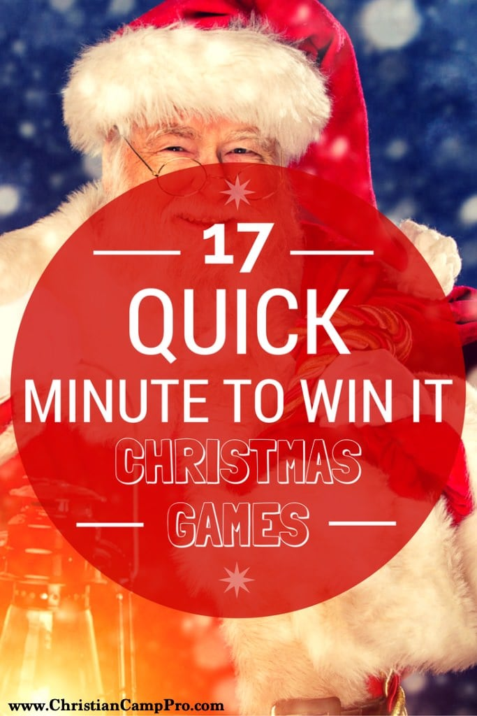 17-Quick-Minute-To-Win-It-Christmas-Games