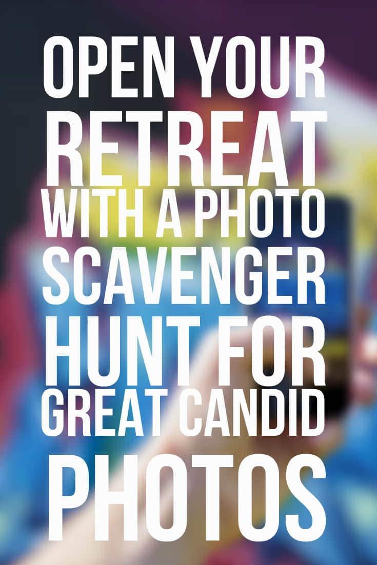 photo scavenger hunt retreat
