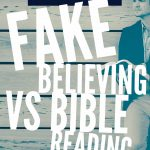 Skit: Fake Believing vs Bible Reading